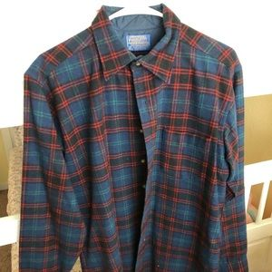 Men's Pendleton Thick Plaid Shirt